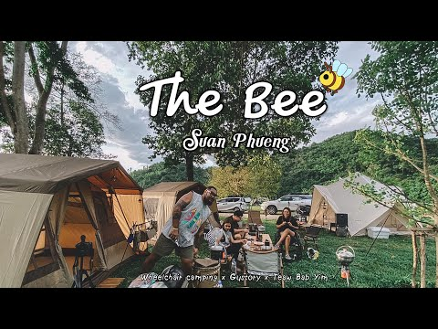 กางเต้นท์-The-Bee-สวนผึ้งราชบุ