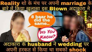 B-town ki adakara ne reality show par khole shaadi ke raaz; wedding day ke bare mei kiya confess - TELLYCHAKKAR