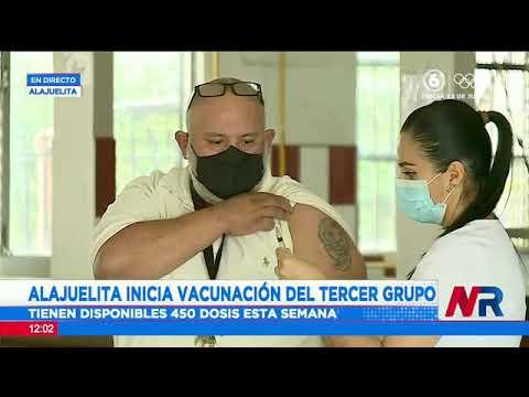 Alajuelita inicia vacunación contra el COVID-19 del tercer grupo de riesgo