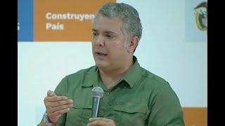 Iván Duque anuncia puesto de mando para monitorear coronavirus en la región