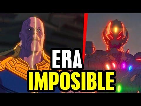 What If ep 8 Ultron pelea con Vigilante y Doctor Strange regreso explicado, Thanos muerte