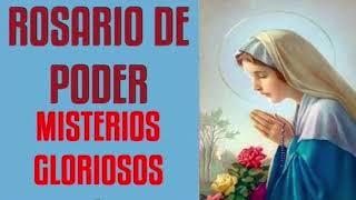 SANTO ROSARIO CORTO | DOMINGO 9 MAYO | MISTERIOS GLORIOSOS   ROSARIO DE PODER