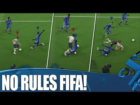 No Rules Football! The Best FIFA Mode Ever!