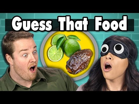 connectYoutube - GUESS THAT FOOD CHALLENGE! | People Vs. Food (ft. FBE STAFF)