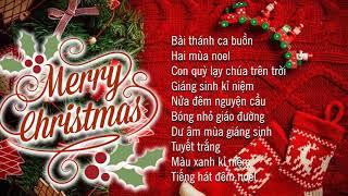 Video NHẠC NOEL XƯA HẢI NGOẠI - Bài Thánh Ca Buồn | Nhạc Giáng Sinh Hải Ngoại Xưa Hay Nhất -