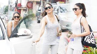 Actress Lavanya Tripathi Exclusive Visuals @ Gym Outside | Telugu Actress Gym Videos - TFPC