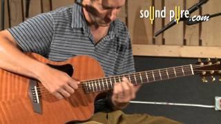 Brazilian Rosewood McPherson Guitar 4.5XPH - Acoustic Guitar Demo