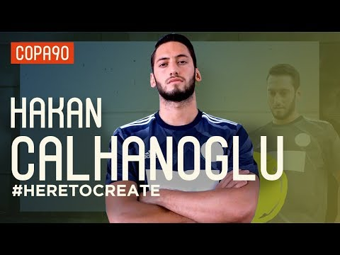 Hakan Calhanoglu: From Cage Footballer to Freekick Master #HereToCreate