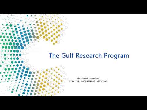 Overview of The Gulf Research Program