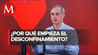 No podemos estar permanentemente en confinamiento: López-Gatell