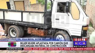 Fémina muere atropellada por camión en colonia al oriente de la capital 2