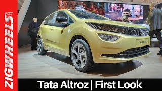 Tata Altroz Hatchback Walkaround   Baleno & Elite i20 Rival Revealed   ZigWheels.com