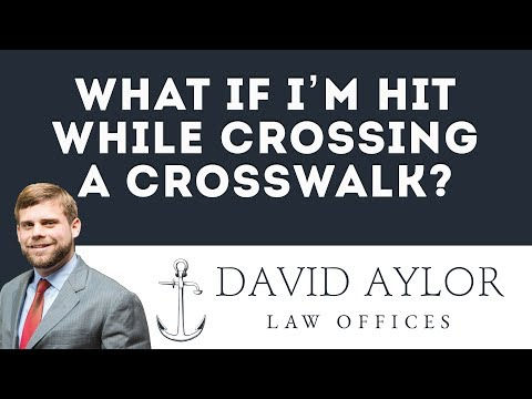 Pedestrian's Rights if Hit in Crosswalk in South Carolina | Charleston SC Injury Lawyer