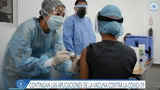 CSS en Chiriquí recibe segunda dosis de vacunas contra el coronavirus
