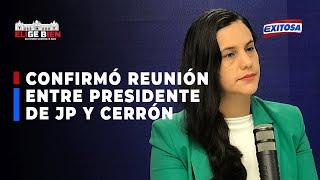 ????????Presidente de JP se reunió con Cerrón antes de acuerdo entre Verónika Mendoza y Pedro Castillo