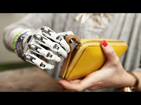 3 Super Cool  Robot Hands / Prosthetic Bionic Hands Can Be Replaced