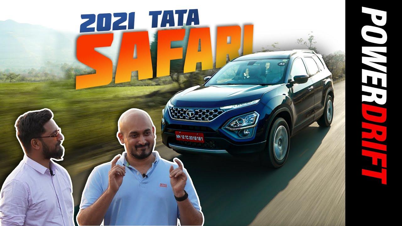 2021 Tata Safari | Top 5 Things You Need To Know | PowerDrift
