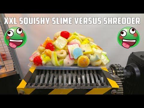 connectYoutube - Shredding XXL 150 Squishy Slime | Transforms in Squishy Bouncing Ball