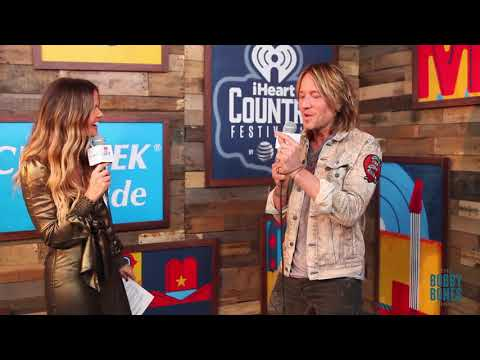 Amy Interviews Keith Urban at our iHeart Country Festival 2018