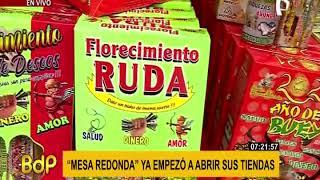 Mesa Redonda: acuden desde temprano por productos para celebrar Año Nuevo