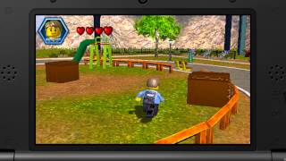 Gameplay - LEGO City Undercover: The Chase Begins (Construction & Runaway Mower!)