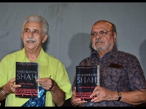 Naseeruddin Shah Launches His Memoir