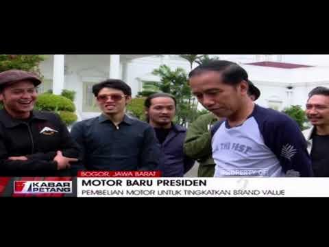 Alasan Jokowi Beli Motor Chooper