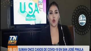 Once casos de covid-19 en San José Pinula