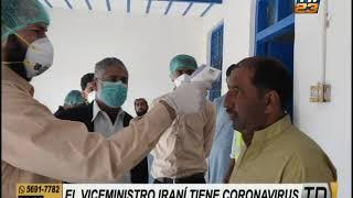 Viceministro de Salud iraní padece coronavirus