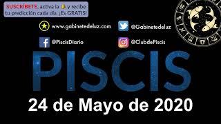 Horóscopo Diario - Piscis - 24 de Mayo de 2020