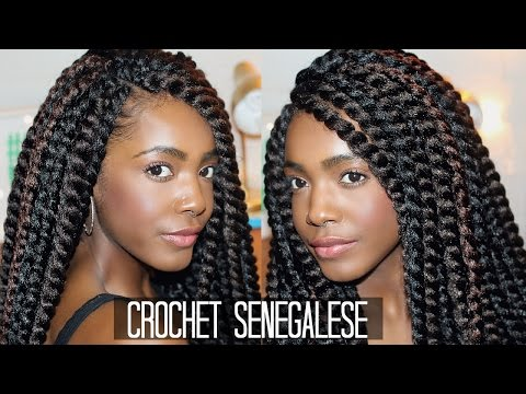 Senegalese Crochet Twists Easy Braid Pattern For Natural