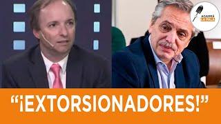 """Boggiano castigó al gobierno por bancar a los piqueteros y aniquiló a Alberso: """"Nadie le cree nada"""""""