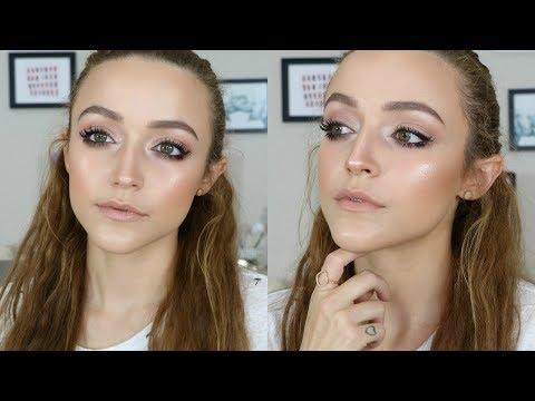 Affordable Makeup Look | Nude Glow