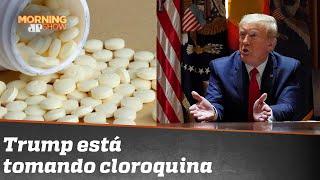 Trump está tomando hidroxicloroquina
