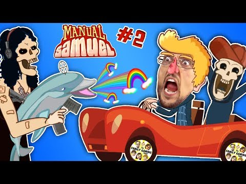 connectYoutube - WALK LIKE SHAWN GAME Part 2! 🎵 Manual Samuel the Doofy Zombie Learning to Drive Musical FGTEEV Fun
