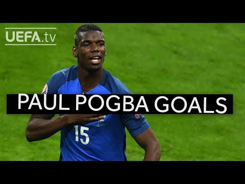 Five great Pogba goals