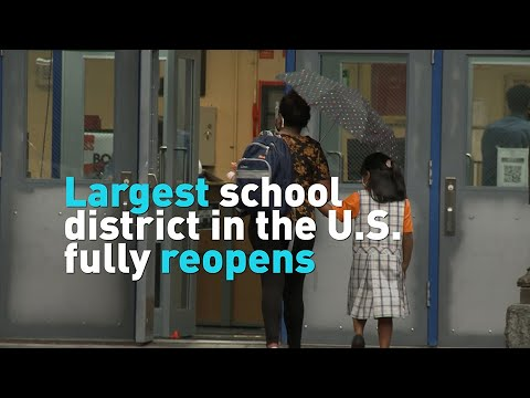 Largest school district in the U.S. fully reopens