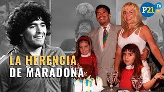 La herencia de Maradona: la lista de bienes, autos de lujo y contratos que deja