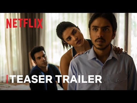 The White Tiger   Official Hindi Teaser   Priyanka Chopra Jonas, Rajkummar Rao, Adarsh Gourav