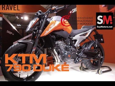 KTM 790 DUKE 2018 / EICMA 2017 [FULLHD]