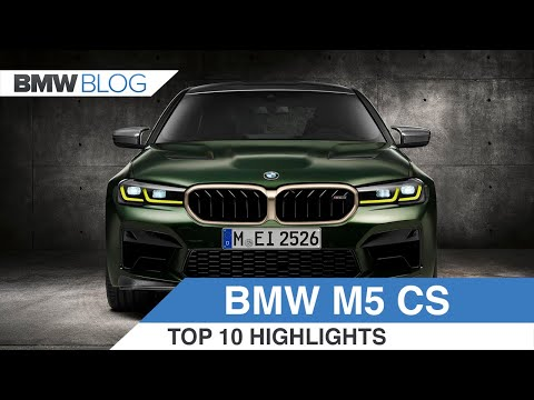 BMW M5 CS | Top 10 Things To Know