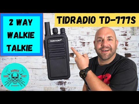 TIDRADIO TD-777S FRS 2 Way Walkie Talkie