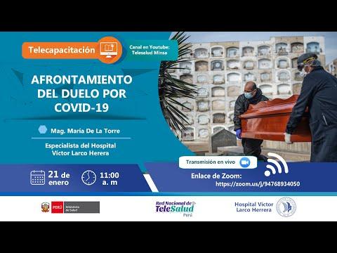 AFRONTAMIENTO DEL DUELO POR COVID-19