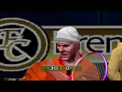 Virtua Tennis (Arcade Mode: Jim Courier) (Hitmaker, Strangelite) (Windows) [2002] [PC Longplay]