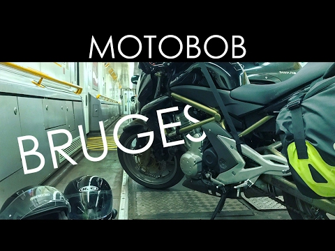 Weekend Motorcycle Trip From London To Bruges | Part 1