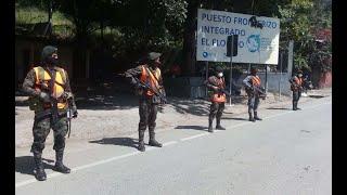 Migrantes hondureños insisten en cruzar las fronteras