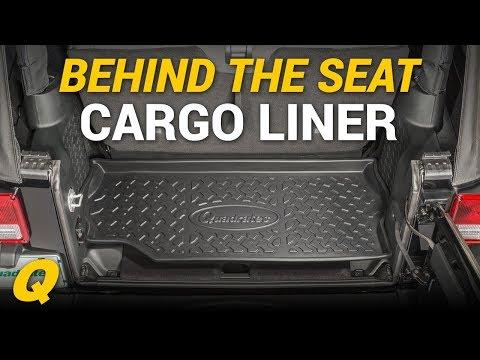 Quadratec Ultimate Behind the Seat Cargo Liner for 07-18 2 Door Jeep Wrangler
