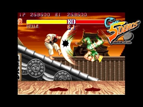 "STREET FIGHTER 2: THE WORLD WARRIOR (GUILE) - ""CON 5 DUROS"" Episodio 6 (BIS) (1cc) (CTR)"