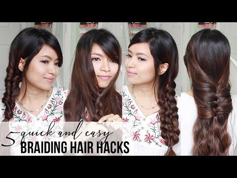 BEST HAIR HACKS TUTORIALS ♥ Quick & Easy Braided Hairstyles