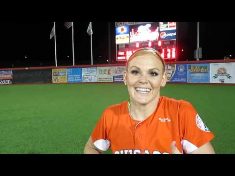 Tammy Williams post-game interview after 8-1 over Pride. June 22, 2013